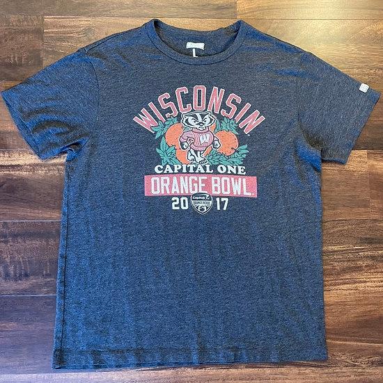 Wisconsin Badgers Orange Bowl T-Shirt