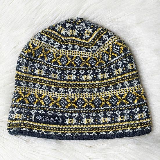 Columbia Knit Fleece Lined Winter Beanie