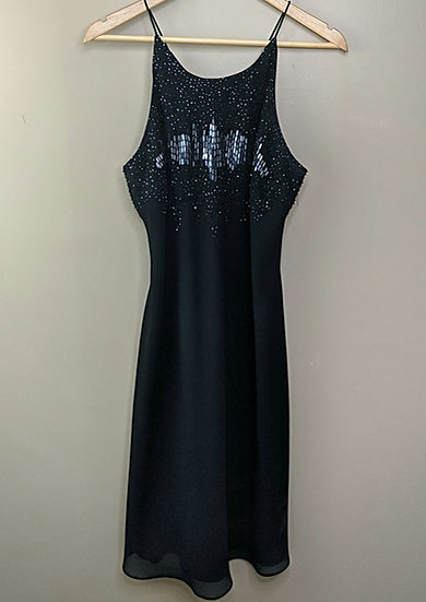 Cachet Bead Embroidered Cocktail Dress