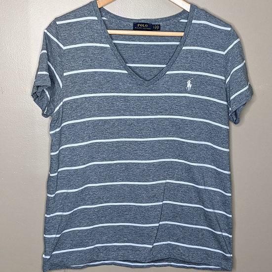 Polo by Ralph Lauren Striped V-Neck Shirt