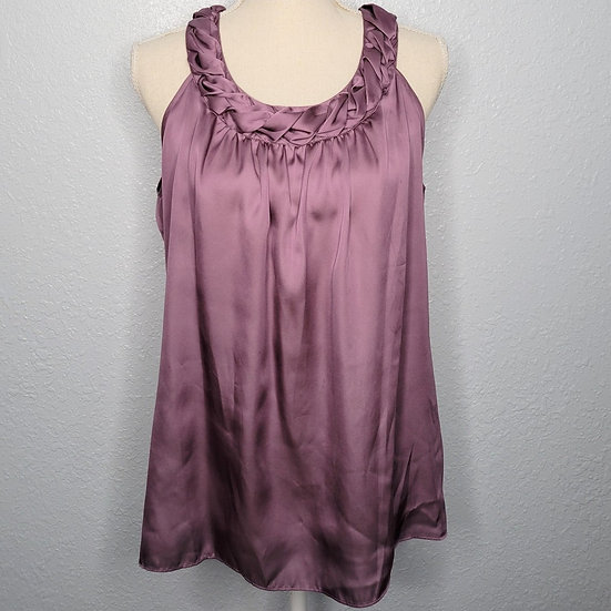 Violet & Claire French Lilac Relaxed Tank Top