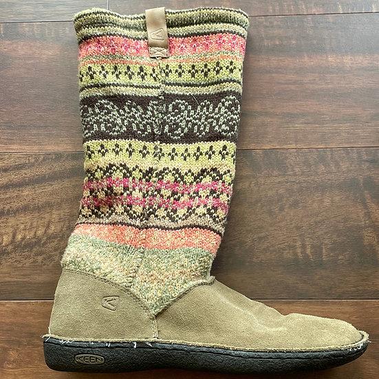 KEEN Auburn Flur Sock Knit Boots