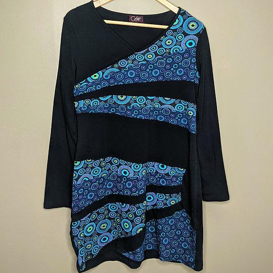 Coline Long Sleeve Polka Dot Dress