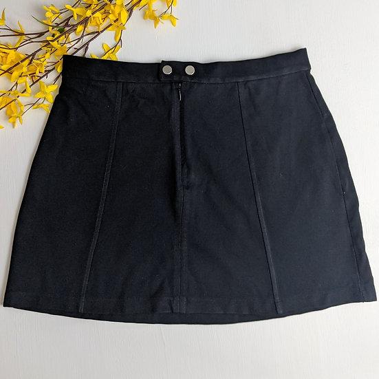 Bershka Black Mini Skirt
