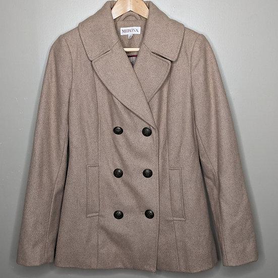 Merona Wool-blend Button Up Peacoat