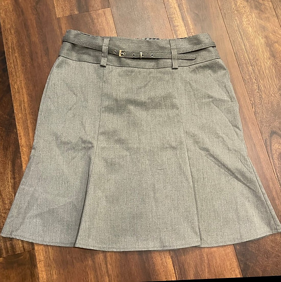 Maurices Flared Pleated Skirt w/ Belt