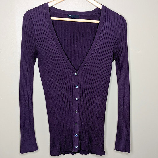 Gap Long Sleeve Button Down Cardigan