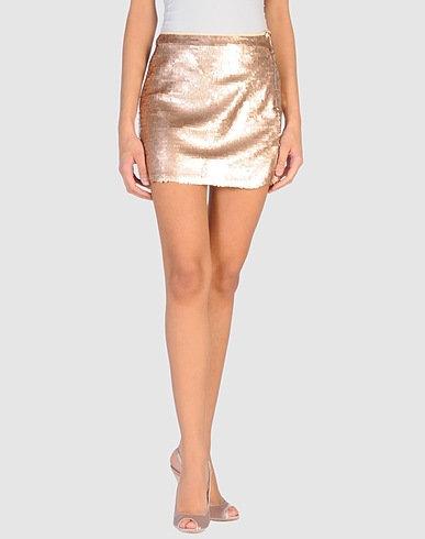 Badgley Mischka Sequins Mini Skirt