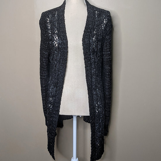 Daisy Fuentes Long Sleeve Knit Open Duster Cardigan