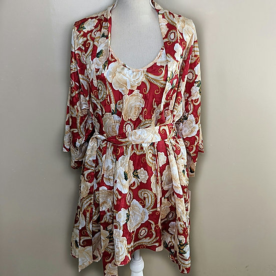 L.A. Intimates Nightgown & Robe Set