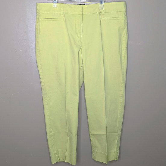 "Talbots ""The Perfect Crop"" Capri Pants"