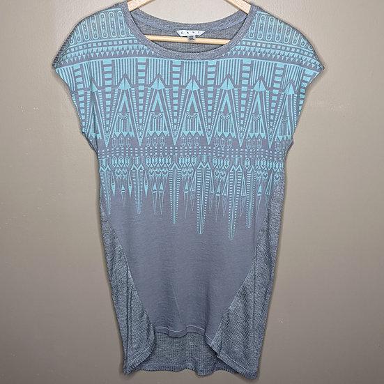 CAbi Aztec Print Short Sleeve Tunic