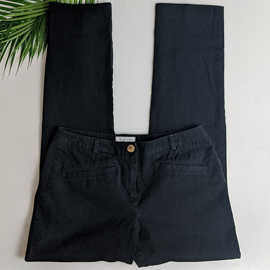 Charter Club Black Chino Capri Pants