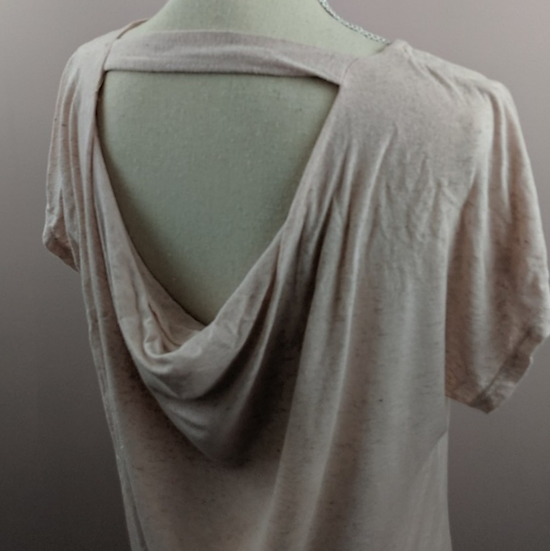 Gibson Cowl Open Back Tunic