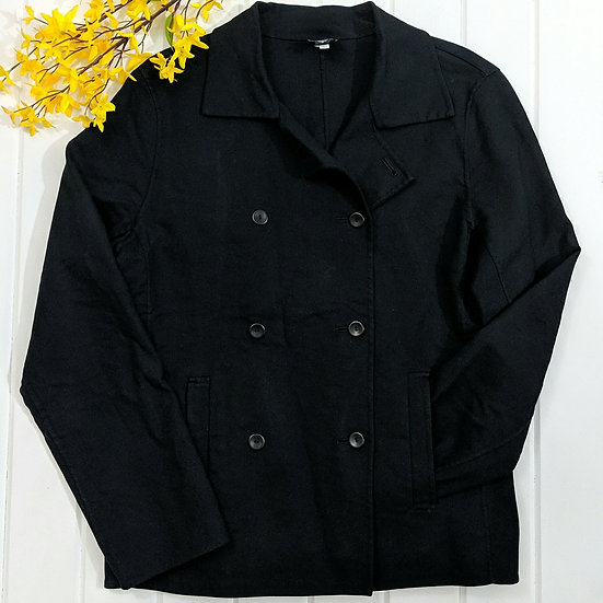 Eileen Fisher Double Button Jacket