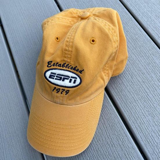 Vintage ESPN Mustard Baseball Cap
