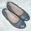 Thumbnail: Cole Haan Gray Elsie Logo Ballet II Flats