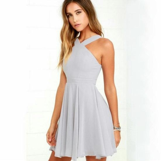 Lulus Forevermore Skater Dress