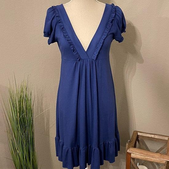 Alya V-neck Short Sleeve Dress