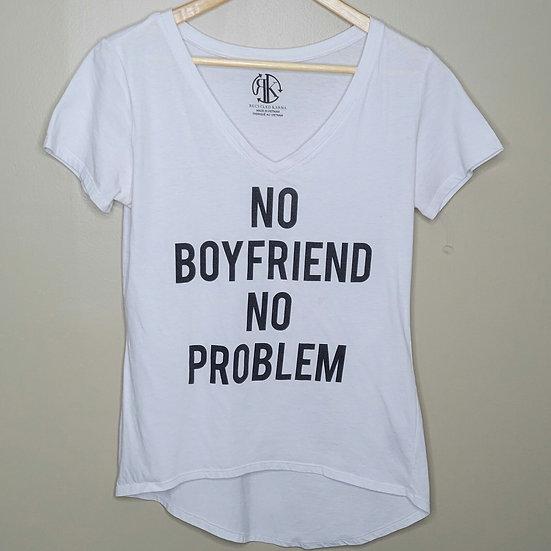 """""""No Boyfriend No Problem"""" Graphic Tee"""