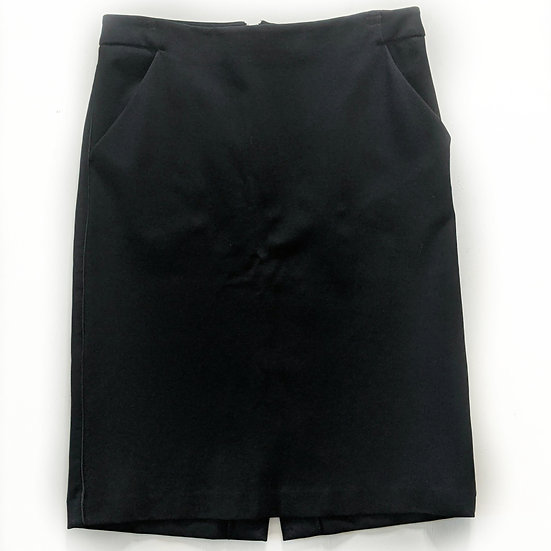 A New Day Black Pencil Skirt