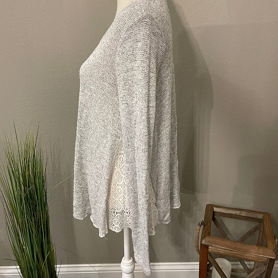 Mossimo Lace Long Sleeve Shirt