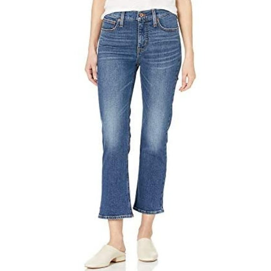 J. Crew High-Rise Cropped Flare Jeans