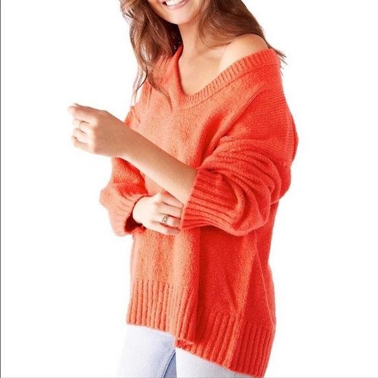 Free People Brookside Tunic Sweater in Love Light