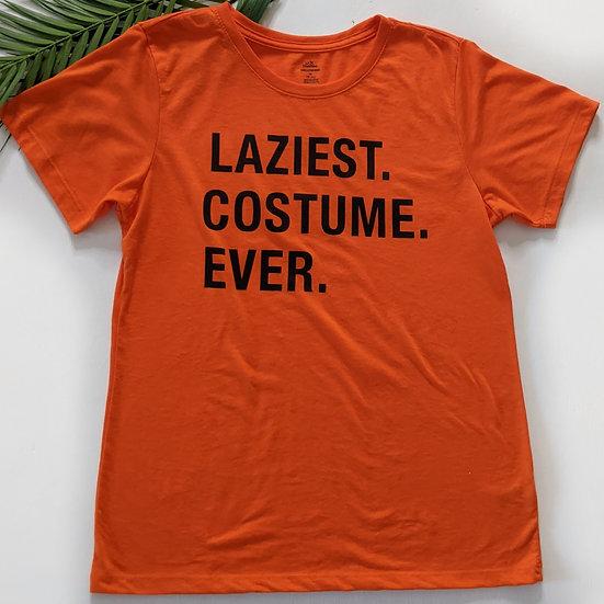"""Laziest Costume Ever"" Short Sleeve Tee"