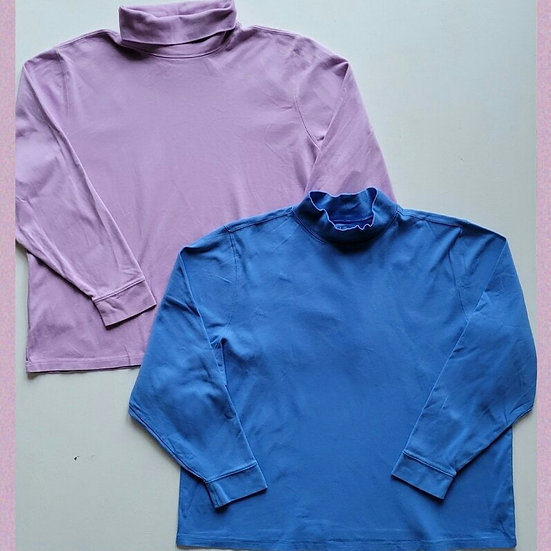 L.L. Bean Turtleneck Long Sleeve Shirts Bundle