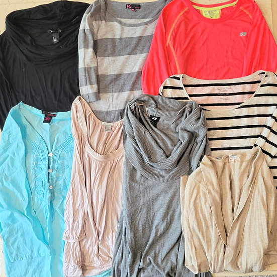 Name Brand Long Sleeve Winter Tops Bundle