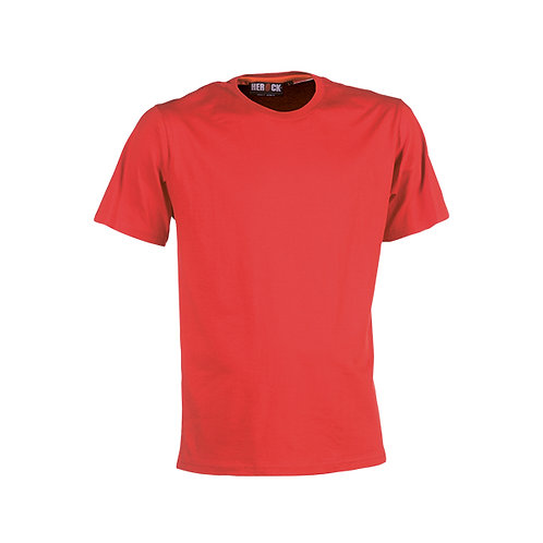Argo tee-shirt manches courtes Rouge