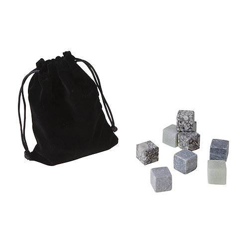 Set 9 pierres glace granit