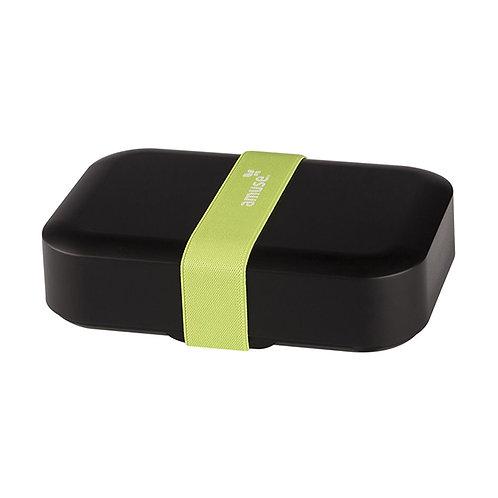 Lunchbox recycled Zero Waste noir 18x13x5 cm