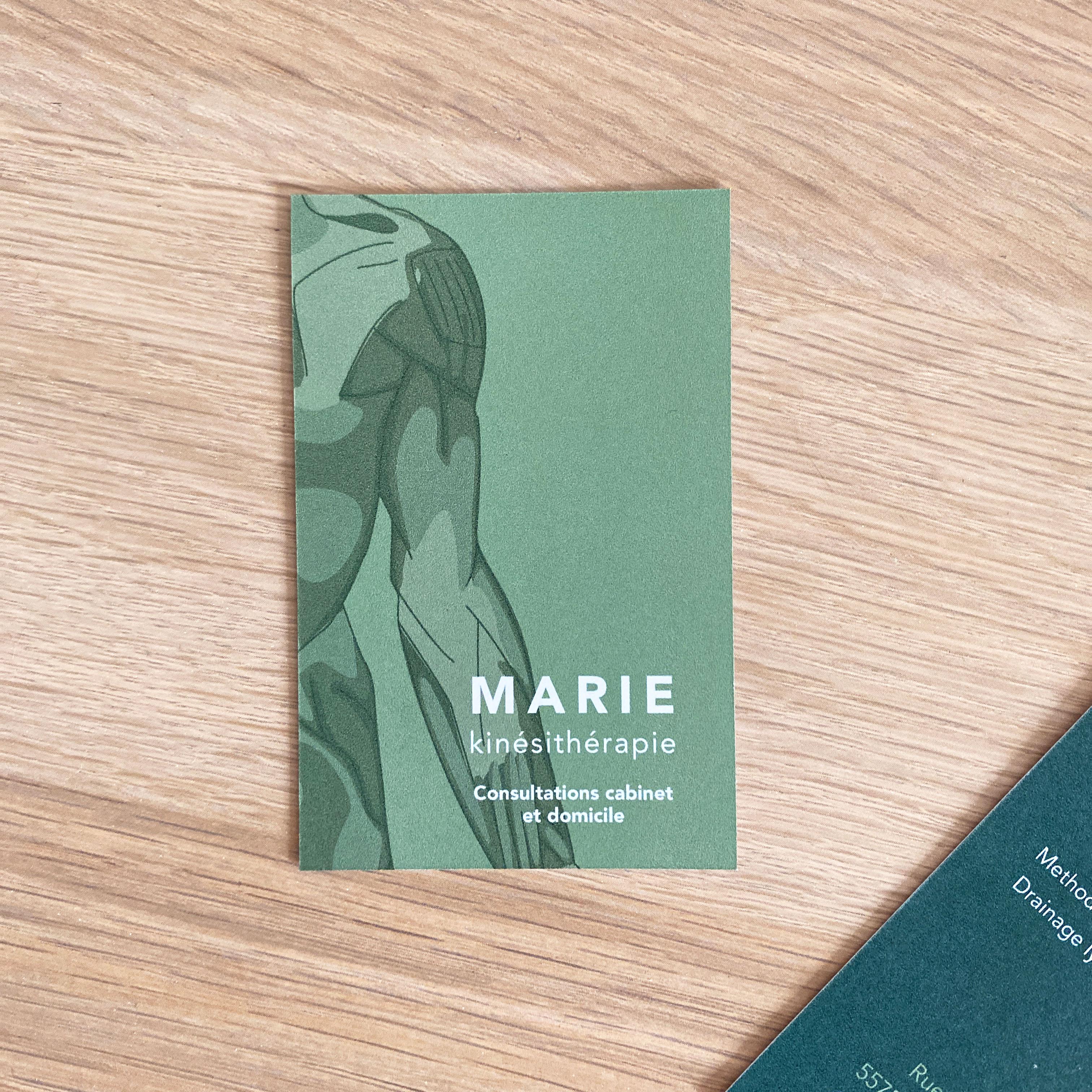 Carte Marie kinésithérapie R