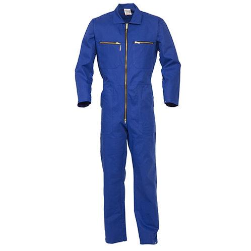 Combinaison 100% coton bleu royal