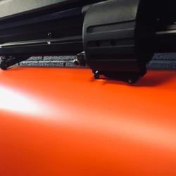 Photo découpes orange