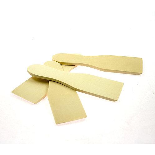 Set 4 spatules en bois pour raclette