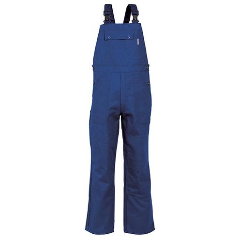 Combinaison 65% polyester / 35% coton bleu royal