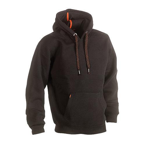 Hesus Sweater avec capuchon Noir
