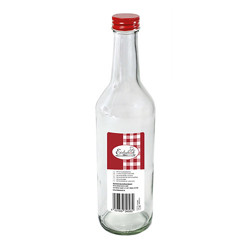 Bouteille avec bouchon à viser 500 ml