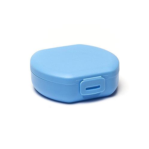 Clip boîte à snack ronde blue 11 cm