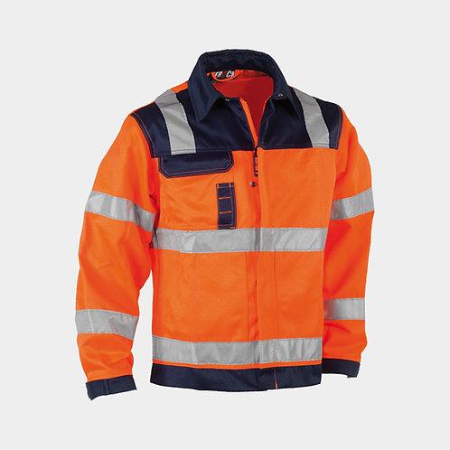 Hydros Haute visible veste Orange/Blue Marine