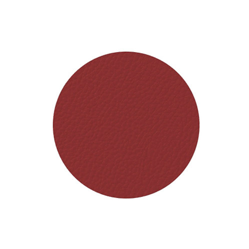 4 sous-verre rouge  10 cm