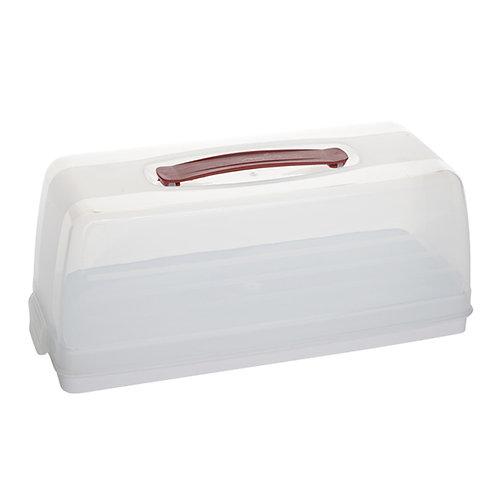 Boîte à cake rectangulaire