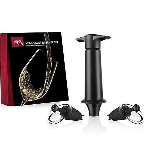 Wine saver & server