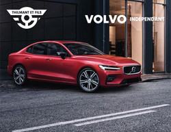 Publicité 1 logo Thilmant et fils Volvo indépendant