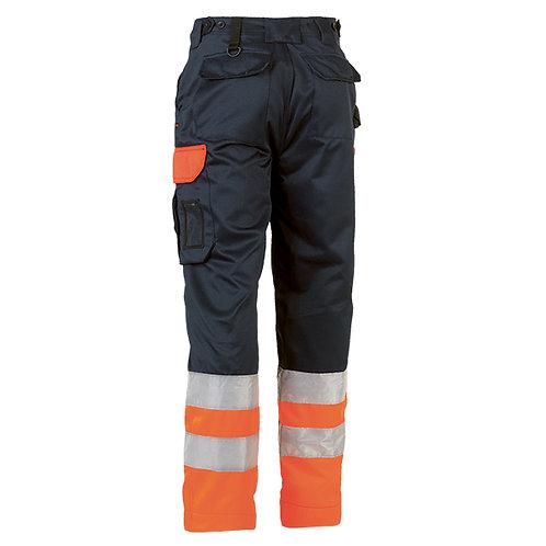 Olympus Haute visible pantalon Blue Marine/Orange