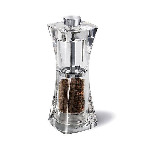 Crystal moulin à poivre 12.5 cm