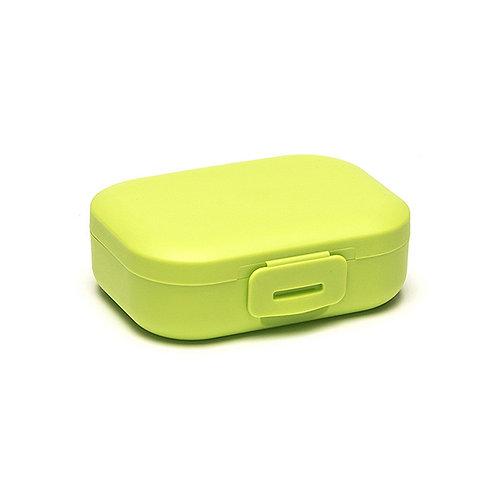 Clip boîte à snack green 11x8x4 cm